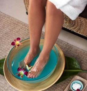 Согревающая ванночка для ног