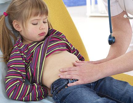 Девочка может иметь проблемы с кишечником